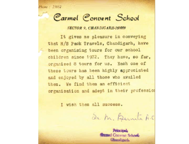 Carmel Convent – 43 Years of Association