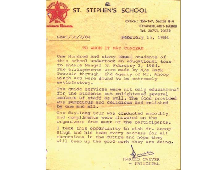 ST. STEPHEN'S – 31 Years of Association