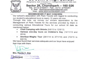 Appreciation for tour to Amritsar - Wagah Border