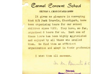 Carmel Convent - 43 Years of Association